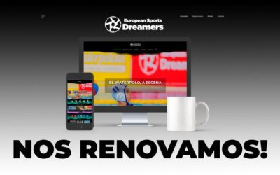 European Sports Dreamers somete su web a un lavado de imagen
